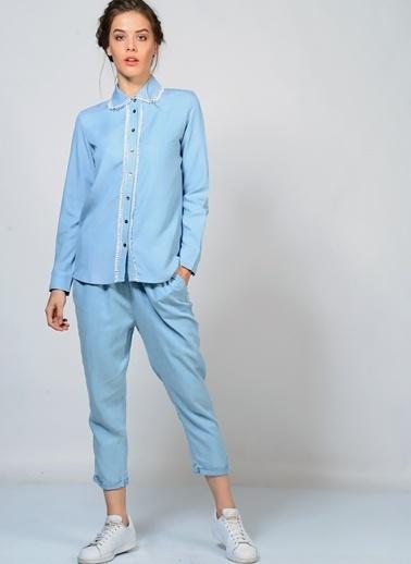 Goldie Gömlek Mavi